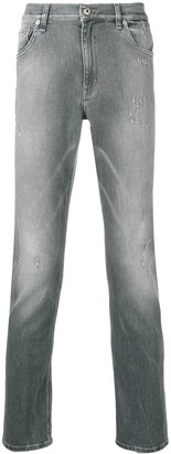 Dondup Mid Rise Slim-Fit Jeans