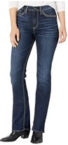Silver Jeans Co. Calley High-Rise Slim Boot Jeans L95614SSX468 (Indigo) Women's Jeans