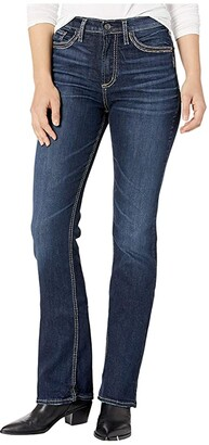 Silver Jeans Co. Calley High-Rise Slim Boot Jeans L95614SSX468