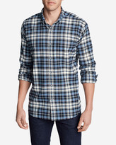 Eddie Bauer Men's Eddie's Favorite Flannel Slim Fit Shirt