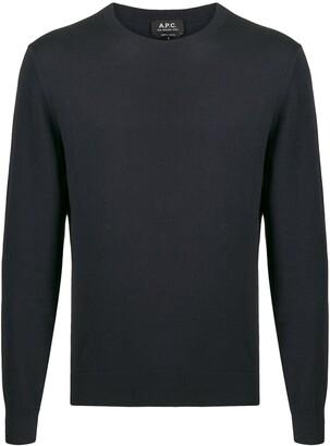 A.P.C. Julian fine-knit jumper