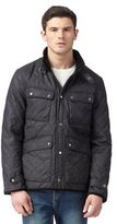 Red Herring Dark Grey Quilted Four Pocket Jacket