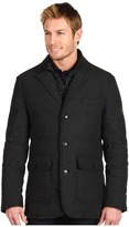 Cole Haan Flannel Down Blazer (Charcoal) - Apparel