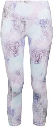 Gaiam Om High-Rise Print Capri Leggings