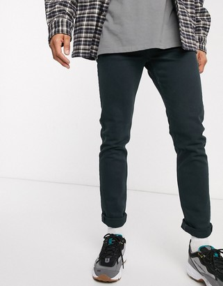 Weekday Friday slim fit jeans in ghost blue
