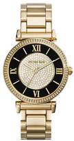 Michael Kors Women's Caitlin Gold-Tone Stainless Steel Bracelet Watch 42mm MK3338