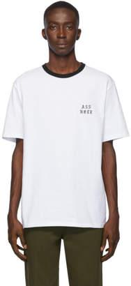 Wacko Maria White Asshole T-Shirt