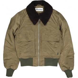 N. Etudes Studios \N Khaki Polyester Jackets
