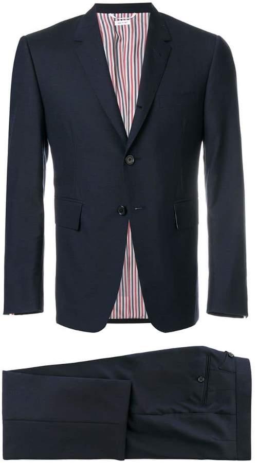 Thom Browne Classic Suit In Super 120's Plain Weave