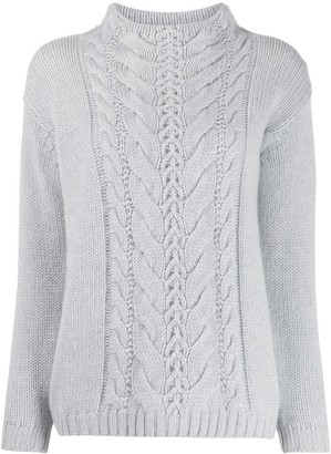 Agnona cable knit jumper
