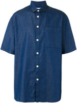 Sunnei oversized denim shirt - men - Cotton - S