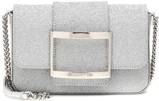 Roger Vivier Tres Vivier Micro glitter shoulder bag