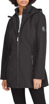 Lauren Ralph Lauren Softshell Jacket with Quilted Vest