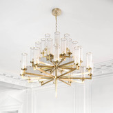 Kelly Wearstler Liaison Triple Tier Chandelier - Brass