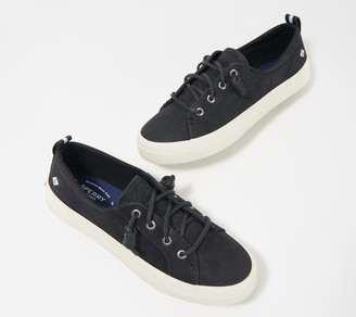 Sperry Crest Vibe Washable Leather Slip-On Sneakers