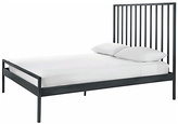 Habitat Lucia Double Bed Frame - Grey