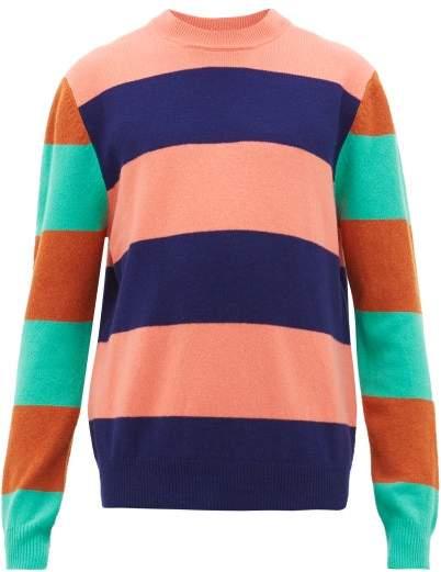 Paul Smith Striped Wool Sweater - Mens - Pink Multi