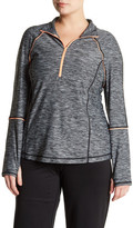 Zella Z By Fast Pace Half Zip Pullover (Plus Size)