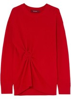 Sies Marjan Brynn Gathered Ribbed Cashmere Sweater