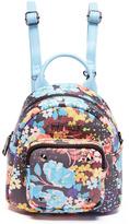 Steve Madden Black & Blue Floral Loey Backpack