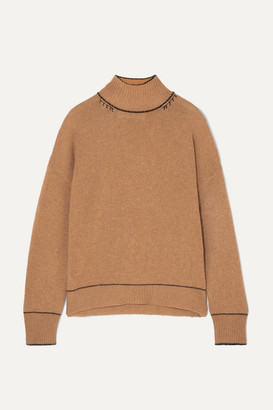 Marni Cashmere Turtleneck Sweater - Brown