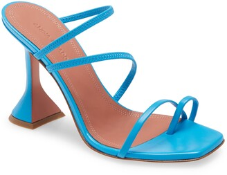 Amina Muaddi Naima Strappy Toe Loop Sandal