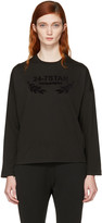 DSQUARED2 Black Long Sleeve Logo T-Shirt