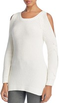 Heather B Cold Shoulder Sweater