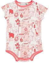 Lucky Jade SAFARI-PRINT COTTON-BLEND BODYSUIT