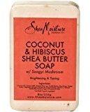 Shea Moisture SheaMoisture Coconut & Hibiscus Shea Butter Soap, 8oz. Per Bar (4 Pack)