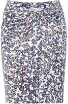 See by Chloé Floral-print jersey skirt