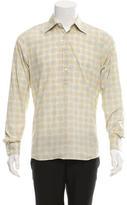 Prada Mosaic Print Popover Shirt