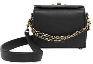 Alexander McQueen Box Bag Grain Leather Satchel 19