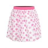 Relish RelishGirls White & Pink Polka Dot Lace Skirt