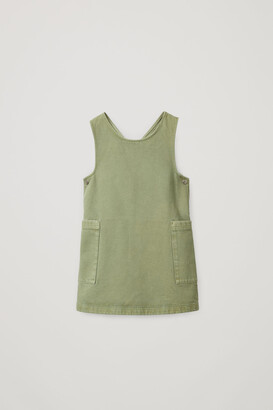 Cos Organic Cotton Pinafore Dress