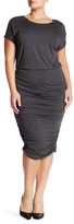 Vince Camuto Ruched Sheath Dress (Plus Size)
