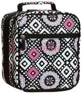 PBteen Gear-Up Black Mosaic Classic Lunch Bag