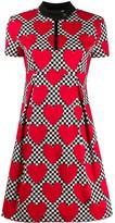 Love Moschino heart-print A-line dress