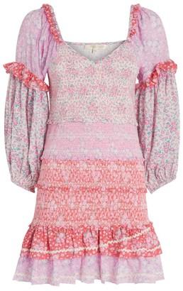 LoveShackFancy Floral Ensley Dress