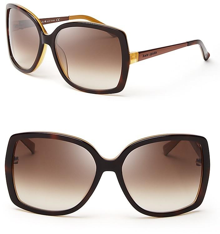 Kate Spade Oversized Square Sunglasses, 59mm