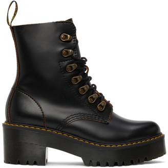 Dr. Martens Black Leona Boots