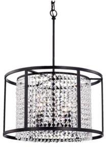 "Home Accessories Phodra 20"" 4-Light Indoor Pendant Lamp with Light Kit"