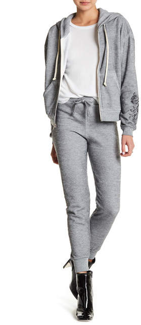 Wildfox Couture Rose Tattoo Jogger Sweatpants