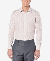 Perry Ellis Men's Big and Tall Mini-Paisley Long-Sleeve Shirt