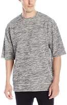 Zanerobe Men's Rugger 3/4 Crew Short Sleeve Sweatshirt