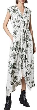AllSaints Tate Evolution Floral Print Dress