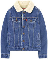 Levi's Jean jacket with a faux fur lining