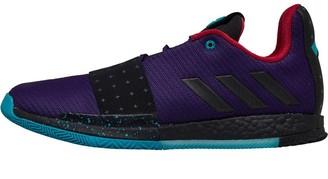 adidas Mens Harden Vol. 3 Boost Drew League Basketball Shoes Collegiate Purple/Core Black/Hi-Res Aqua