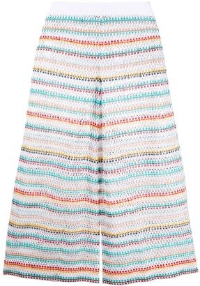 Missoni Mare Striped Knee-Length Shorts