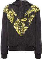 Versace Jeans Lightweight Hooded Zip-up Jacket
